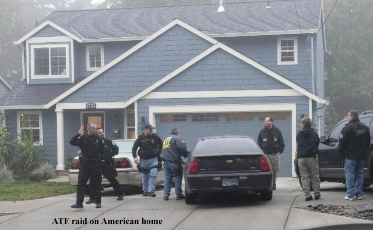 ATF raid on American home
