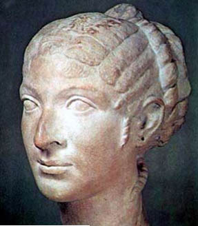 Bust of Cleopatra VII