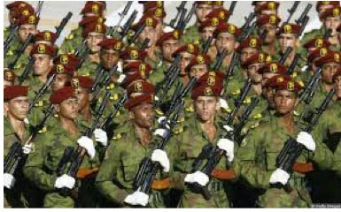Cuban army