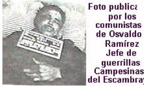 Death of Osvaldo Ramirez