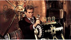 Rod Taylor in H.G. Well's The Time Machine