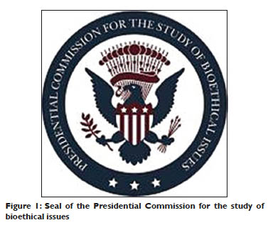 Seal of the Presidential Commission for the study of bioethical issues
