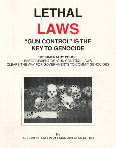 Lethal Laws Dust Jacket