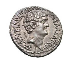 Mark Antony coin