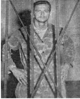 Captured 2506 Brigade Commander Pepe San Roman