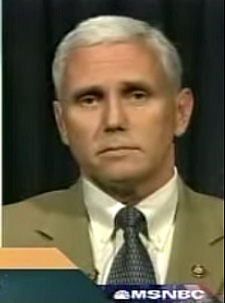 Rep. Mike Pence in 2002