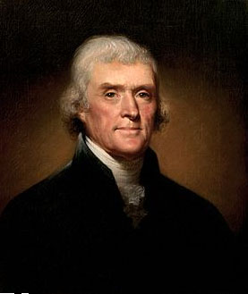 Thomas Jefferson, 3rd President of the United States