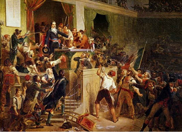 Violent Mobs of the French Revolution